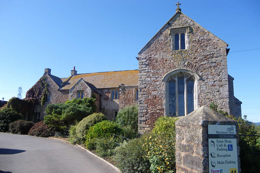 Blackmore Farm and Manor House in Cannington