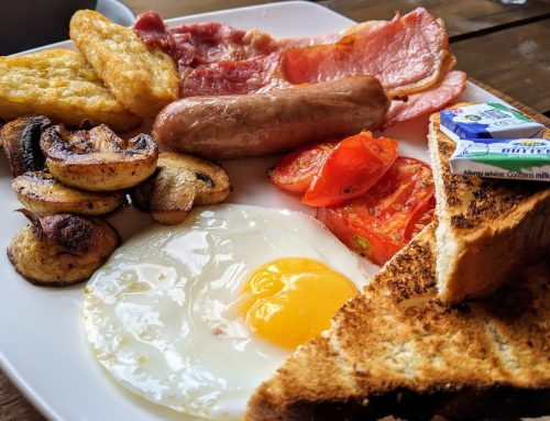 Full English Breakfast Now Available in Farm Cafe